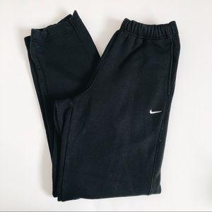 Vintage Mens Black Nike Joggers 90's